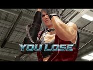 Virtua Fighter 5 Ultimate Showdown - Jean Kujo (Game Over & Continue)
