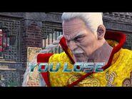 Virtua Fighter 5 Ultimate Showdown - Lau Chan (Game Over & Continue)