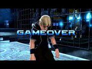 Virtua Fighter 5 Final Showdown - Lion Rafale (Game Over & Continue)