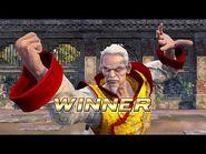 Virtua Fighter 5 Ultimate Showdown - Lau Chan (Intros & Win Poses)