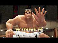 Virtua Fighter 5 Ultimate Showdown - Taka-Arashi (Intros & Win Poses)