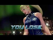 Virtua Fighter 5 Ultimate Showdown - Sarah Bryant (Game Over & Continue)