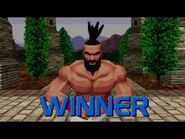 Virtua Fighter 2 - Jeffry (Win Poses)