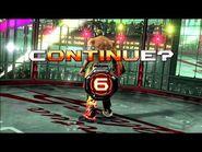 Virtua Fighter 5 Final Showdown - El Blaze (Game Over & Continue)