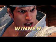 Virtua Fighter 5 Ultimate Showdown - Akira Yuki (Intros & Win Poses)