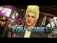 Virtua Fighter 5 Ultimate Showdown - Jacky Bryant (Game Over & Continue)