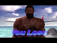 Virtua Fighter 4 - Jeffry McWild (Game Over & Continue)