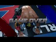 Virtua Fighter 5 Ultimate Showdown - El Blaze (Game Over & Continue)