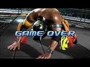 Virtua Fighter 5 - El Blaze (Game Over & Continue)