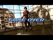Virtua Fighter 5 - Eileen (Game Over & Continue)