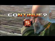 Virtua Fighter 5 Final Showdown - Shun Di (Game Over & Continue)