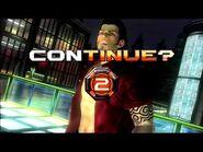 Virtua Fighter 5 Final Showdown - Brad Burn (Game Over & Continue)