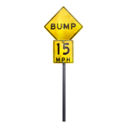 Sign bump redirect