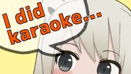 Beatani's thumbnail for her 'About karaoke stream!!! and so on' stream