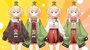 Momosuzu Nene Second Costume Variants