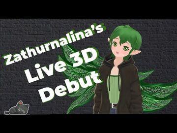 Zathurnalina's_3D_Debut!