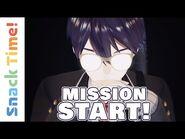 MISSION START! NIJISANJIfication of all humankind - Snack Time! -1 (VTuber Anime) (Eng Sub)