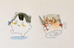 Beatani hunting down Chihiro with a knife.jpg