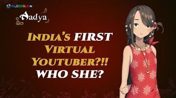 【NIJISANJI_IN】New_Vtuber_from_India??!!_Namaste_🌸_I'm_Aadya