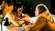 """Najwa Nimri """"La tercera de Vis a Vis está reconcentrada, es un pasaje del terror"""""""
