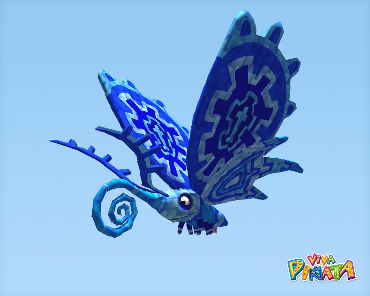 Blue Flutterscotch