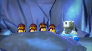 The Pengums In Cave With Polollybear