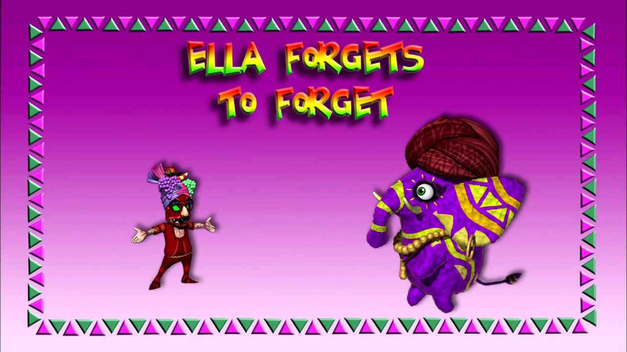 Ella Forgets to Forget