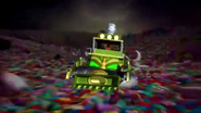 Professor Pester's Vehicle Inside Hudson's Stomach