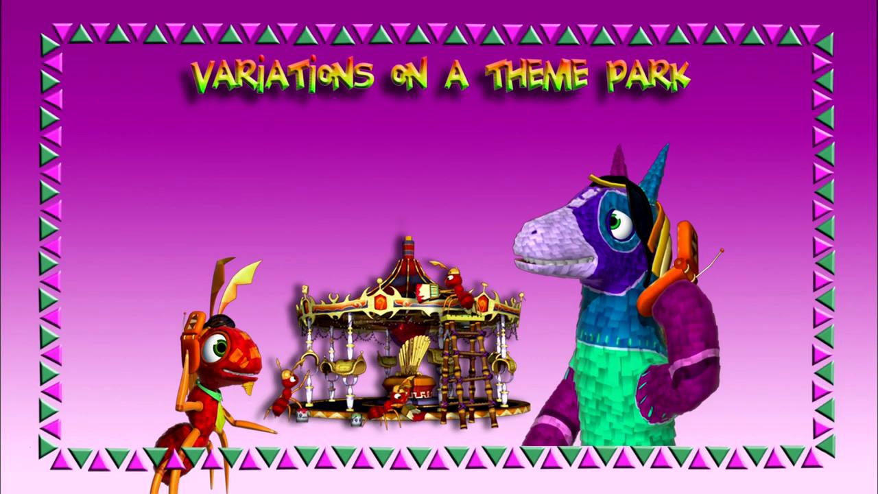 Variations on a Theme Park