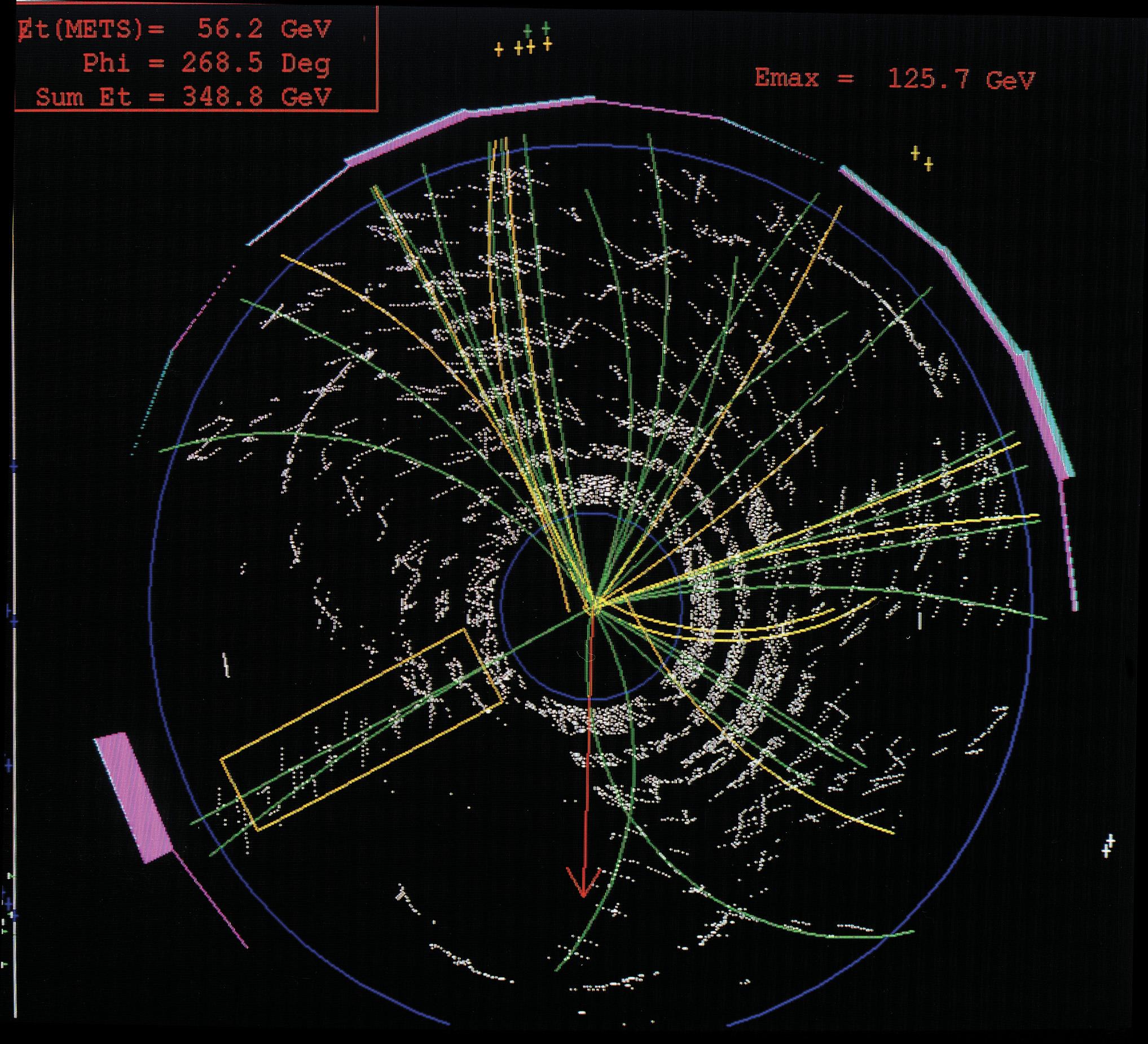 Струя (физика элементарных частиц)