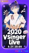 Vsinger live 2020 moke promo