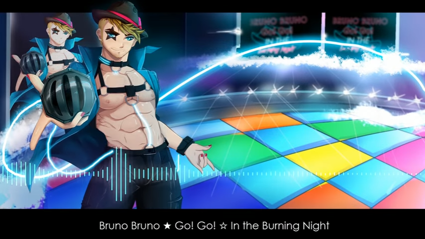 Bruno Bruno ★ Go! Go! ☆ In the Burning Night