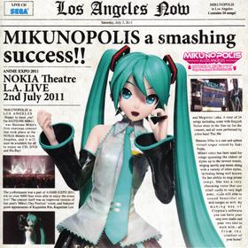 "MIKUNOPOLIS in LOS ANGELES ""はじめまして、初音ミクです"" (MIKUNOPOLIS in LOS ANGELES ""Hajimemashite, Hatsune Miku desu"")"