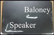 Baloney speaker ft Miku