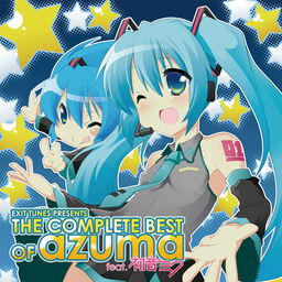 "Image of ""EXIT TUNES PRESENTS THE COMPLETE BEST OF azuma"""