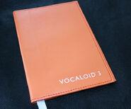 VOCALOID3 Leather Book Cover Orange