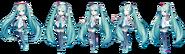 Hatsune Miku V3 чиби