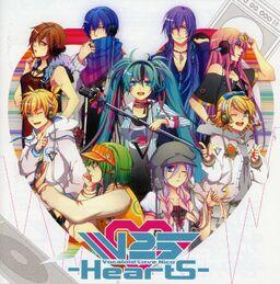 "Image of ""V Love 25 -Hearts-"""