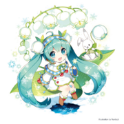 Snow Miku 2015 Main Visual 2