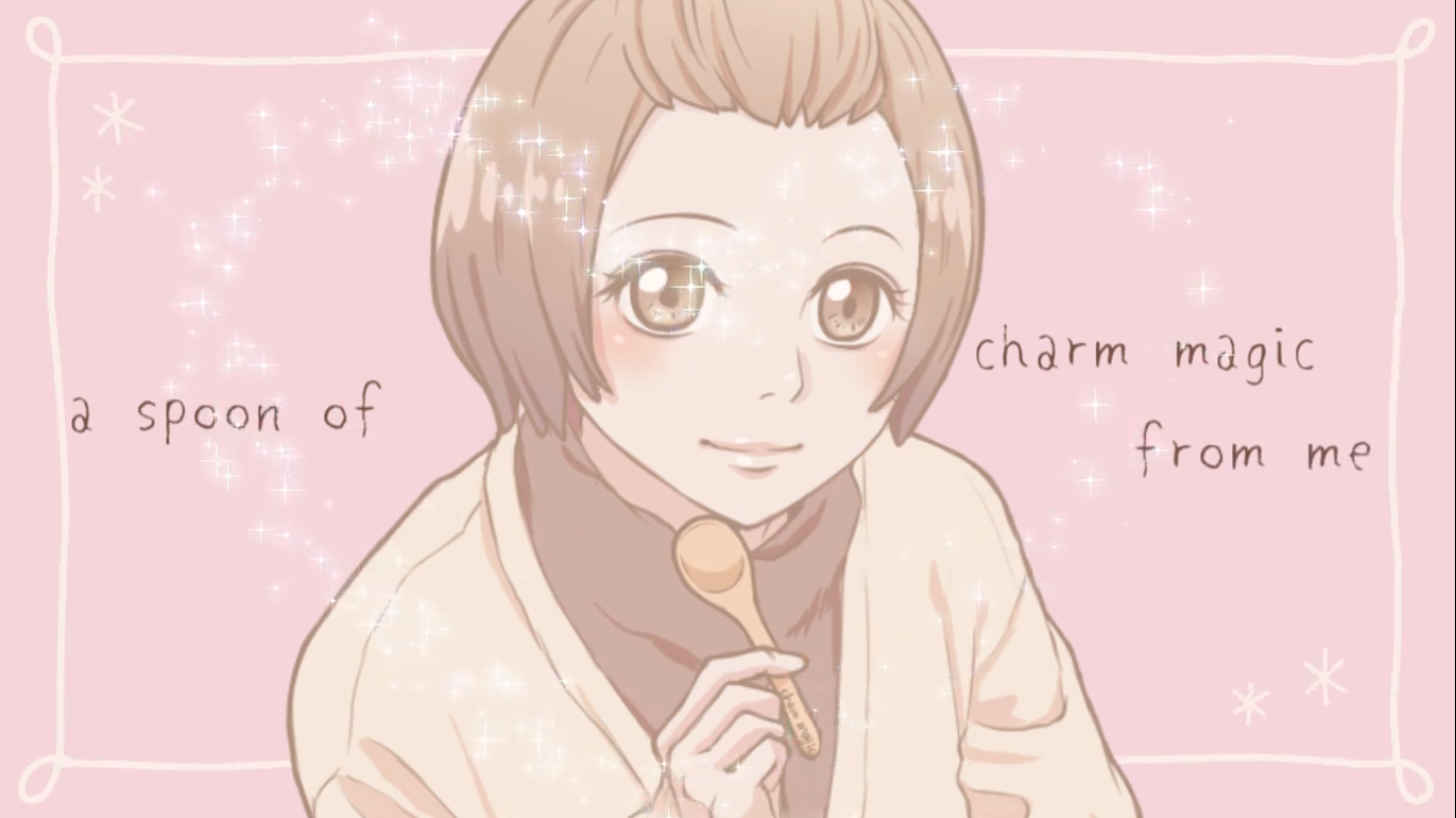 A spoon of charm magic