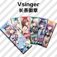Vsinger live 2018 badges