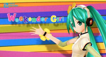 """Image of """"Weekender Girl"""""""