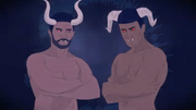 Hidden Horns (literal) - CyberSongman Chris by PartyP.png