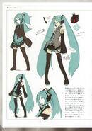 Hatsune Miku концепт-арт