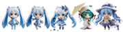 Snow Miku 2015 Nendoroids