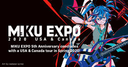"Image of ""HATSUNE MIKU EXPO 2020 USA & CANADA"""