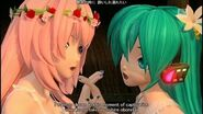 -60fps Full風- Magnet マグネット-Hatsune Miku Megurine Luka 初音ミク 巡音ルカ DIVA English lyrics romaji subtitles
