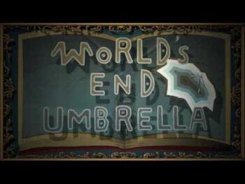 "Image of ""WORLD'S END UMBRELLA"""