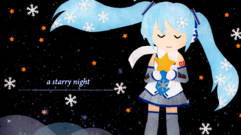 """Image of """"A starry night"""""""