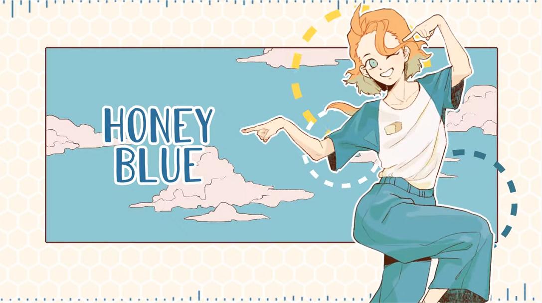 Honey Blue